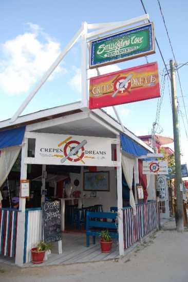 CREPES & DREAMS - successful Creperie for sale in Caye Caulker, Belize
