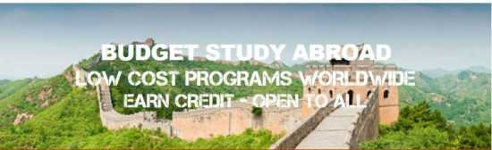 Low Cost Study Abroad Worldwide